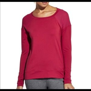 Calia by Carrie Underwood Mesh Panel Top Med